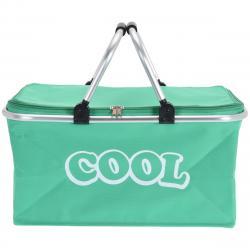 Chladicí košík zelená, 48 x 28 x 24 cm