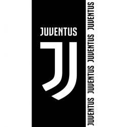 TipTrade Osuška Juventus FC Black Color, 75 x 150 cm