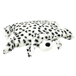 BO-MA Trading Polštářek Dalmatin s knoflíkem velký, 55 x 75 cm