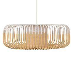 Forestier Forestier Bamboo Light XL závěsné světlo 60cm bílá