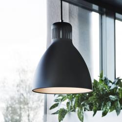 GLamOX LED závěsné světlo L-1, DALI stmívač 4000 K černá