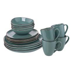 FINCA Sada nádobí set 16 ks - modrá