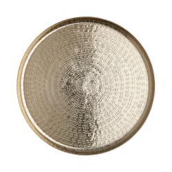 ORIENTAL LOUNGE Dekorační talíř tepaný 33 cm - zlatá