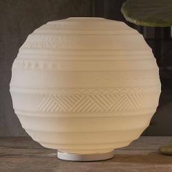 Karman Karman Braille - skleněná stolní lampa, 40 cm