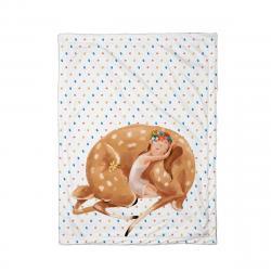 Butter Kings Dětská deka Forest school sleeping fairy, 75 x 100 cm