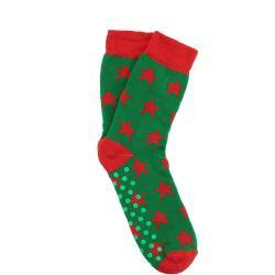 COZY SOCKS Ponožky hvězda 35-38 - zelená