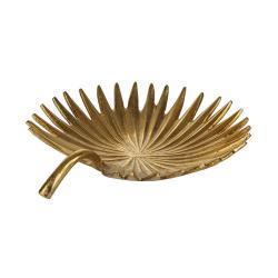 GOLDEN JUNGLE Dekorační mísa list 27 cm
