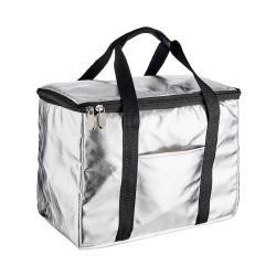 KEEP COOL Chladící taška - stříbrná