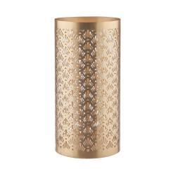 LUMINOUS Svícen ornamenty 26 cm - zlatá