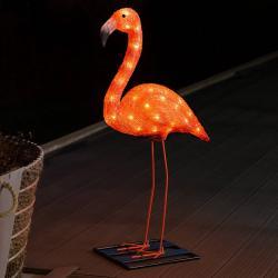 Konstmide SEASON LED dekorativní světlo Flamingo 65 cm