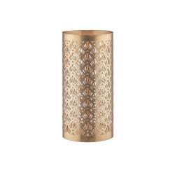 LUMINOUS Svícen ornamenty 21 cm - zlatá