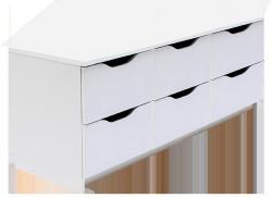 Shoptop Skříňka KODA ALEXO 6 bílá