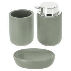 Koupelnová sada Elegant, šedá