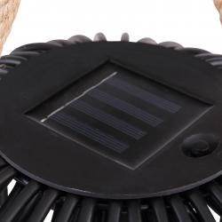 Globo LED solární dekorační světlo lucerna, výška 26cm
