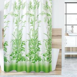 Bellatex Sprchový závěs Tráva zelená, 180 x 200 cm