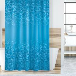 Bellatex Sprchový závěs Mozaika modrá, 180 x 200 cm