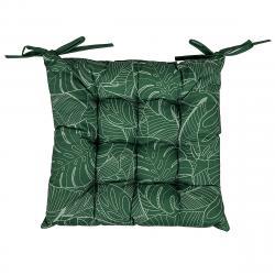 Sedák tmavě zelená, 40 x 40 cm