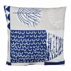 Bellatex Povlak na polštářek Patchwork tmavě modrá, 40 x 40 cm