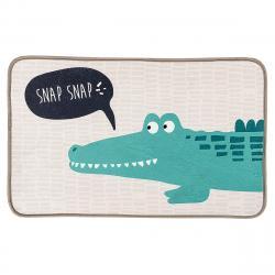 Dětský koberec Krokodýl, 50 x 78 cm
