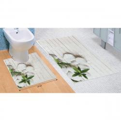 Bellatex Sada koupelnových předložek Jadran 3D, 60 x 100 cm, 50 x 60 cm