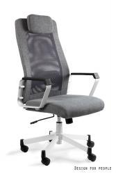 UNIQUE Kancelářská židle FOX, šedá