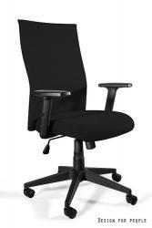UNIQUE Kancelářská židle BLACK ON BLACK PLUS