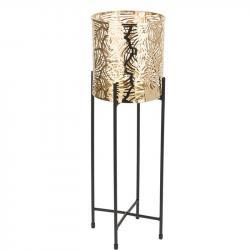 DekorStyle Květinový stojan Dona 45 cm zlatý