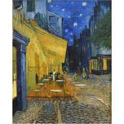 Reprodukce obrazu Vincent van Gogh - Cafe Terrace,70x50cm