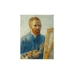 Reprodukce obrazu Vincent van Gogh - Self-Portrait as a Painter,60x45cm