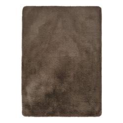 Hnědý koberec Universal Alpaca Liso, 140 x 200 cm