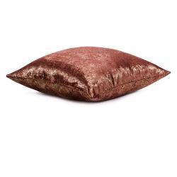 Sada 2 červených povlaků na polštář se sametovým povrchem AmeliaHome Veras,45x45cm