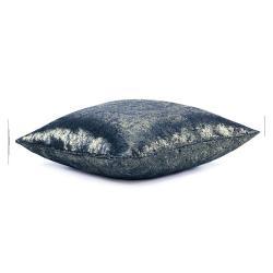 Sada 2 modrých povlaků na polštář se sametovým povrchem AmeliaHome Veras,45x45cm