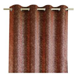 Červený závěs se sametovým povrchem AmeliaHome Veras,140x250cm