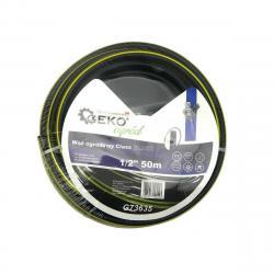 "GEKO Zahradní hadice černá, 1/2"", 50 m"