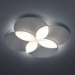 BANKAMP BANKAMP Spring LED stropní světlo, antracit matný