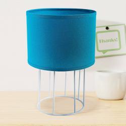 DUOLLA Stolní lampa Carla S, modrá