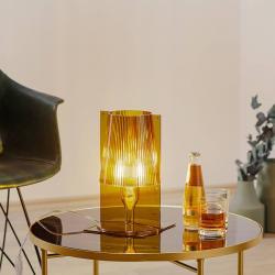 Kartell Kartell Take stolní lampa, olivově zelená