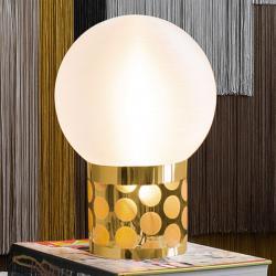 Slamp Slamp Atmosfera stolní lampa, Ø 30 cm, zlatá