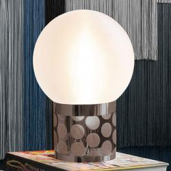 Slamp Slamp Atmosfera stolní lampa, Ø 30 cm, cín