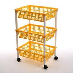 Tontarelli Pojízdný vozík Mito 3, oranžová