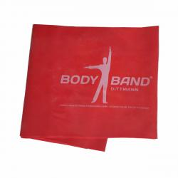 Posilovací guma Body-Band 2,5 m, červená SJH 523B