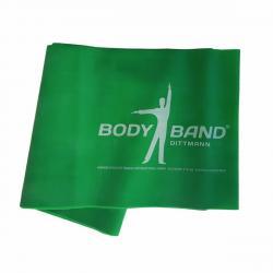 Posilovací guma Body-Band 2,5 m, zelená SJH 523C