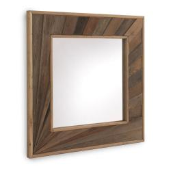 Nástěnné zrcadlo Geese Sunrays, 89 x 89 cm