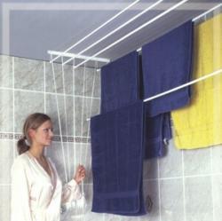 ALDO Stropní sušák na prádlo Ideal 5 tyčí 120 cm