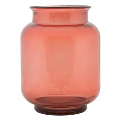 Růžová váza z recyklovaného skla Mauro Ferretti Florero