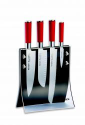 Sada nožů v magnetickém stojanu Red Spirit F.Dick 4 ks