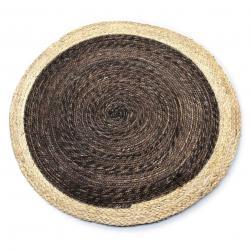DekorStyle Jutový koberec Bali Round 80 cm hnědý