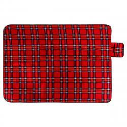 Pikniková deka červená, 150 x 200 cm