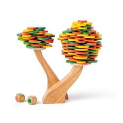 Woody Balanční hra Strom, 13 cm