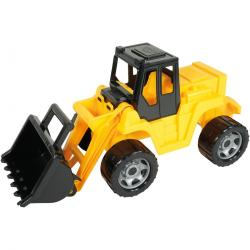 Lena Nakladač Giga Trucks žlutá, 62 cm